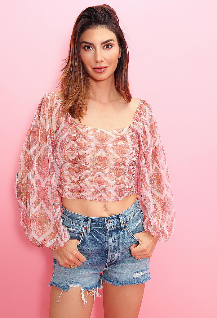 KK Bloom Girls Night Out Blouse