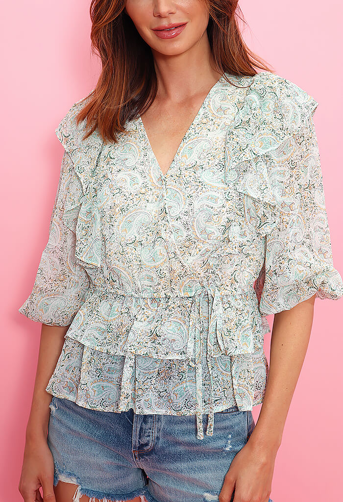 KK Bloom Round of Applause Blouse