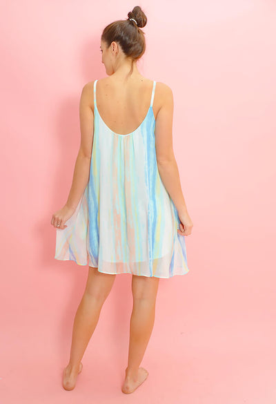 Sea Glass Mini Dress