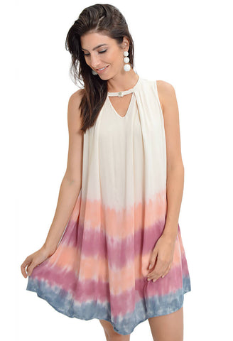 Candy Drifter Dress - Coral