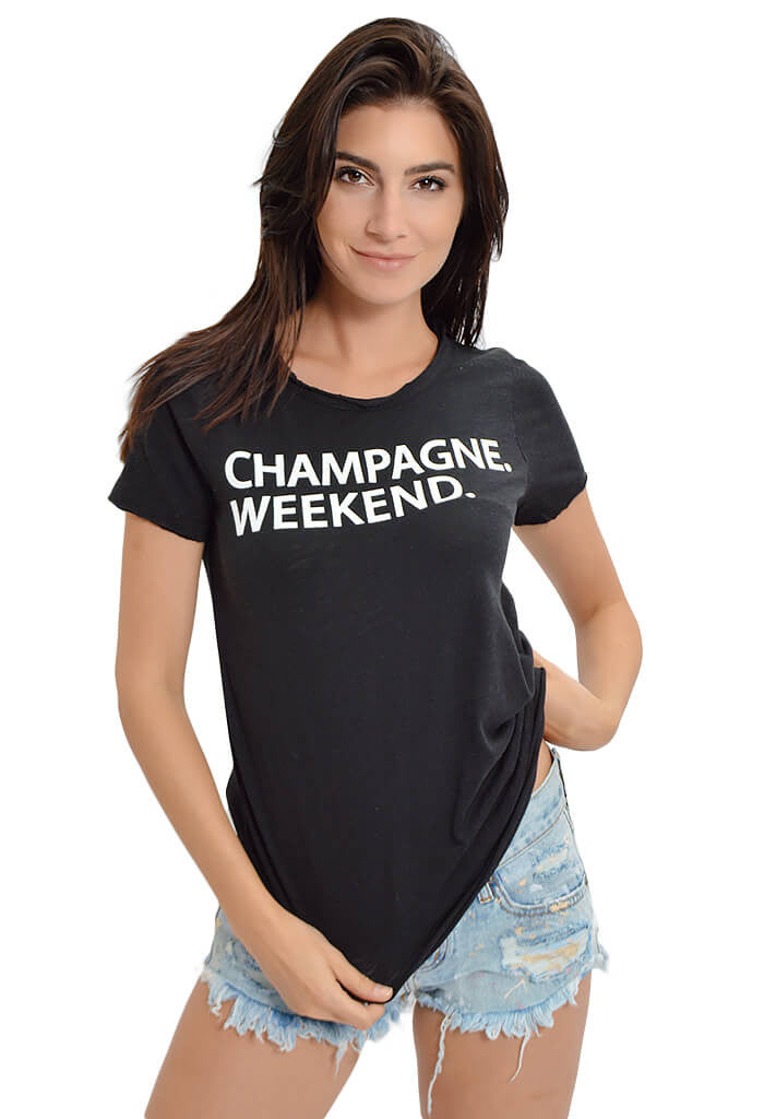 Champagne Weekend Tee