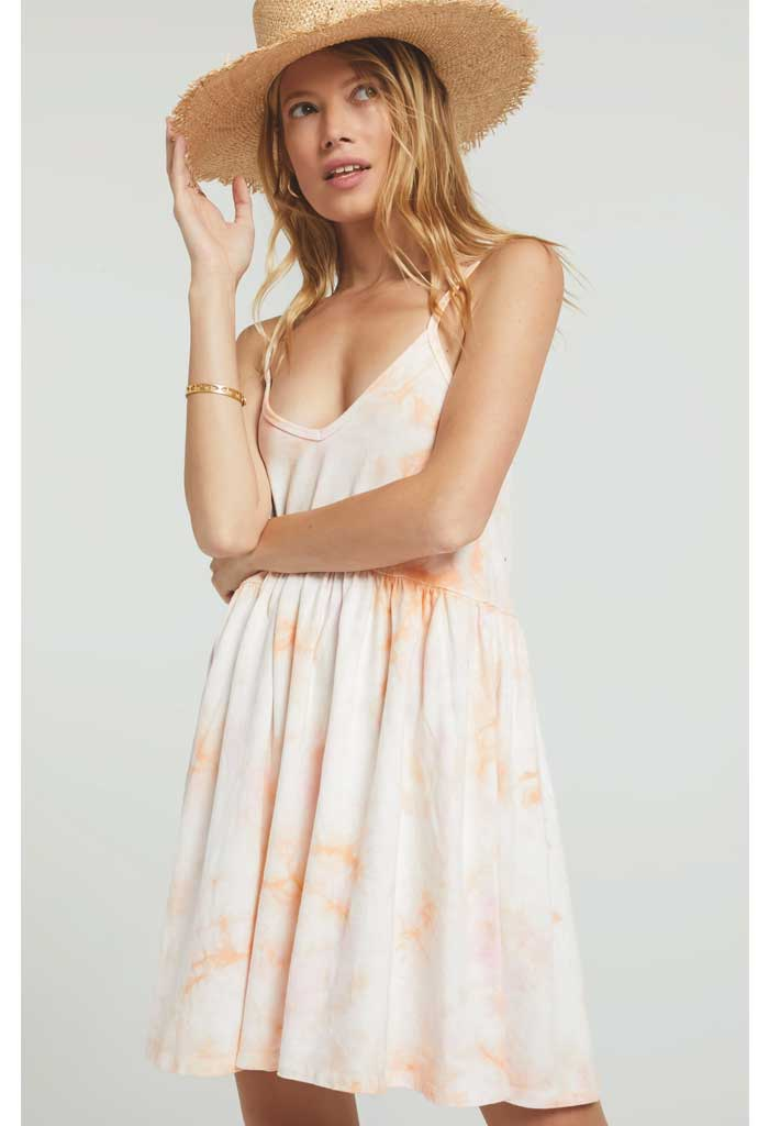 Kona Hazy Dress-Pink Champagne