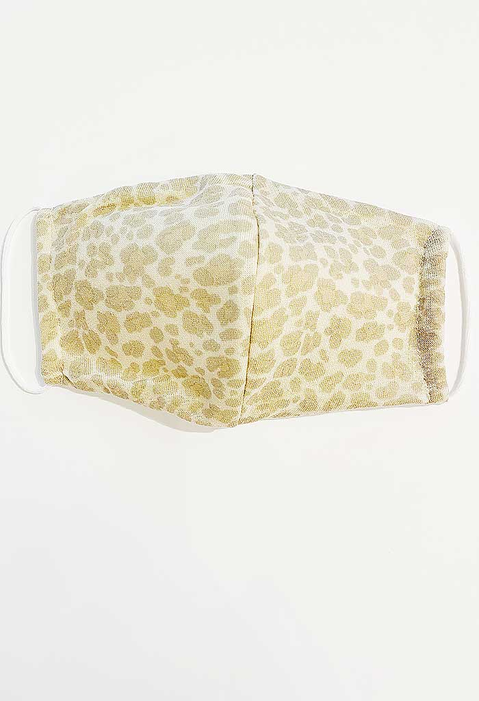 Cheetah Print Reusable Mask