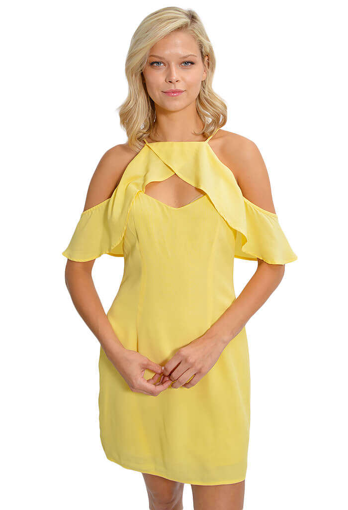 BB Dakota Kaless Ruffle Dress - KK Bloom Boutique