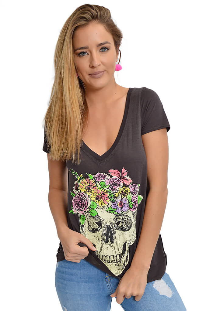 Chaser Flower Crown Tee-front