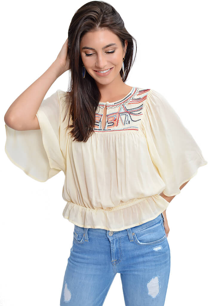 Heartloom Summer Top-front
