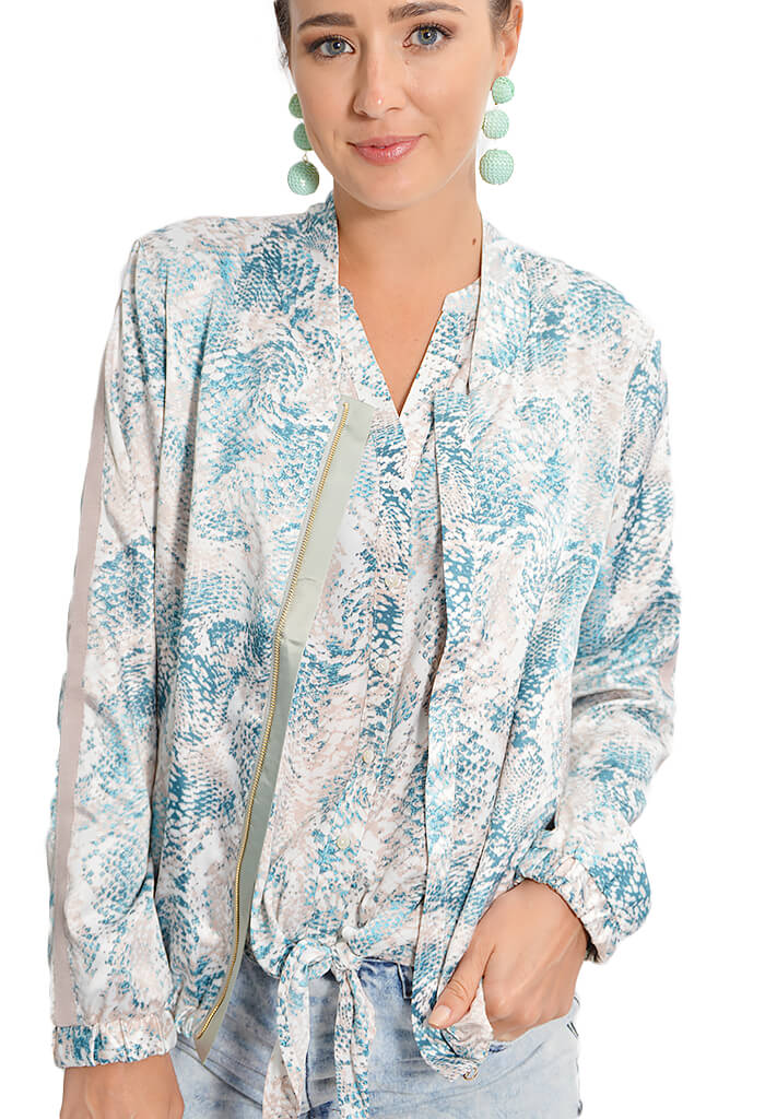 Tart Azaria Reversible Bomber - KK Bloom Boutique