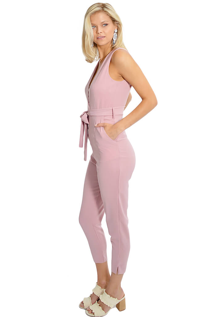 Bubble Gum Jumpsuit
