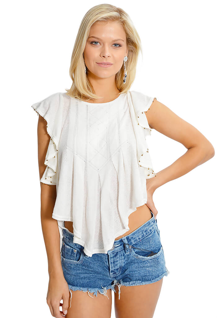 Free People Tiny Bells Tank - KK Bloom Boutique