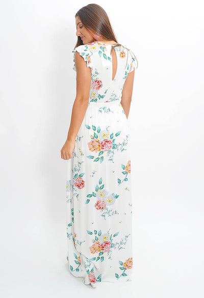 Pinkies Up Maxi Dress