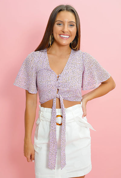 Lost in Lavender Blouse