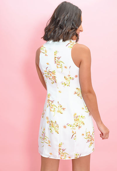 Floral Beauty Mini Dress