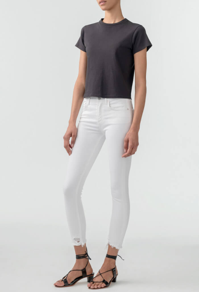 Sophie Hi Rise Skinny Crop - Sanction