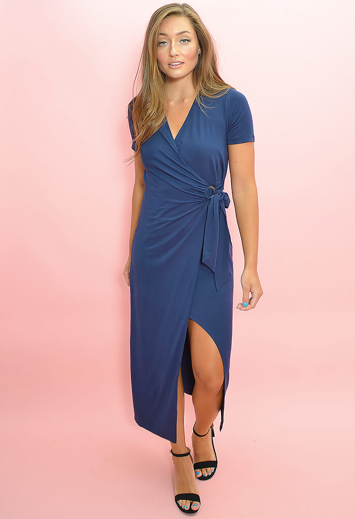 Colton Dress-Indigo