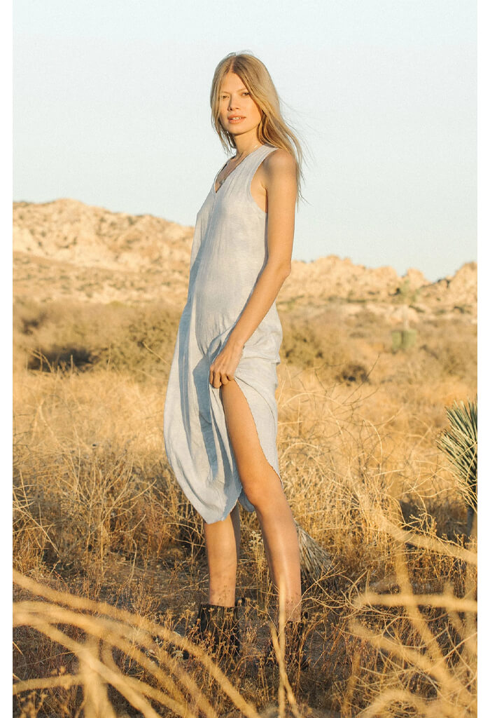 Cloud Tie-Dye Reverie Dress