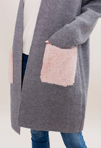 The Room Cotton Candy Cardigan - KK Bloom Boutique