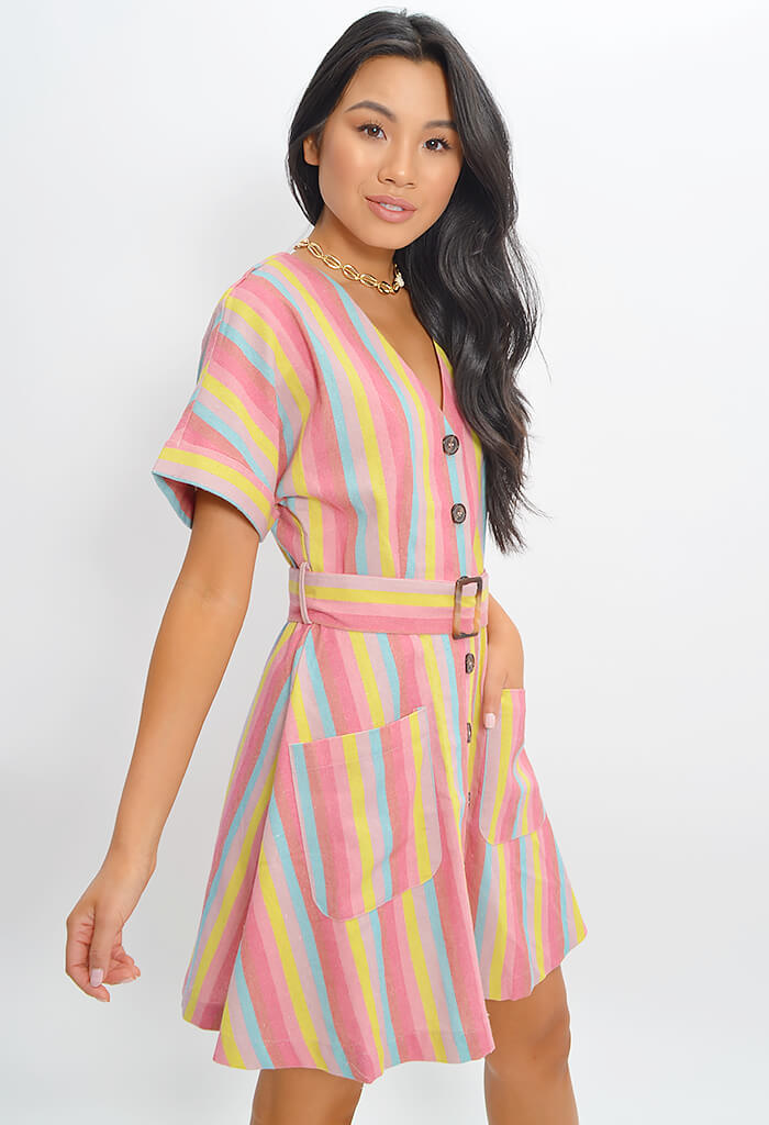 Rainbow Sunshine Dress