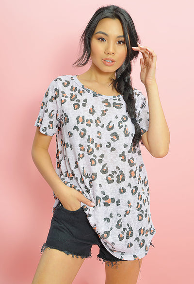 Lolly Leopard Tee