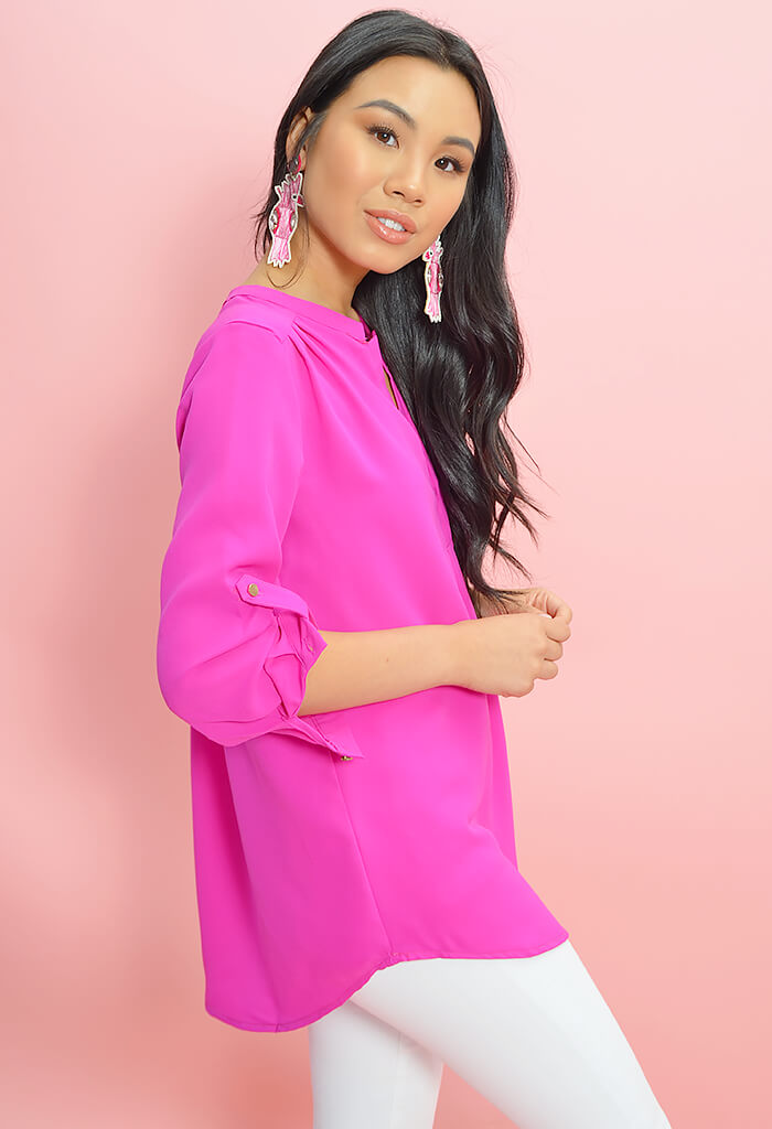 The Fuchsia is Bright Top