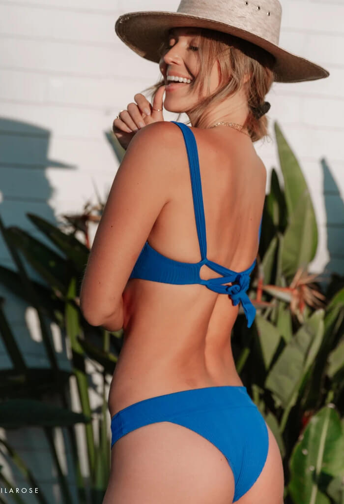 Veronica Bikini Bottom-Royal Blue