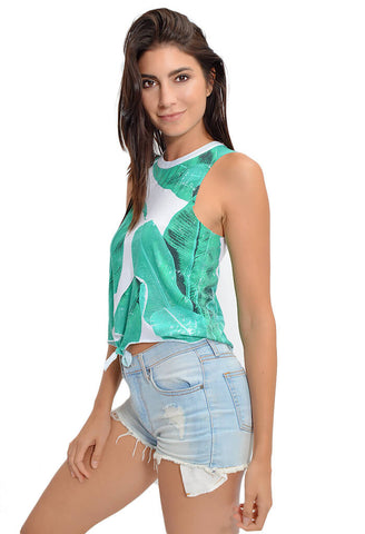 Banana Leaves Muscle Tank