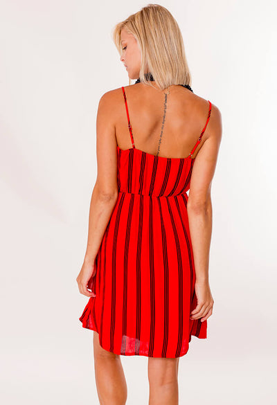 Game Day Dress - Red
