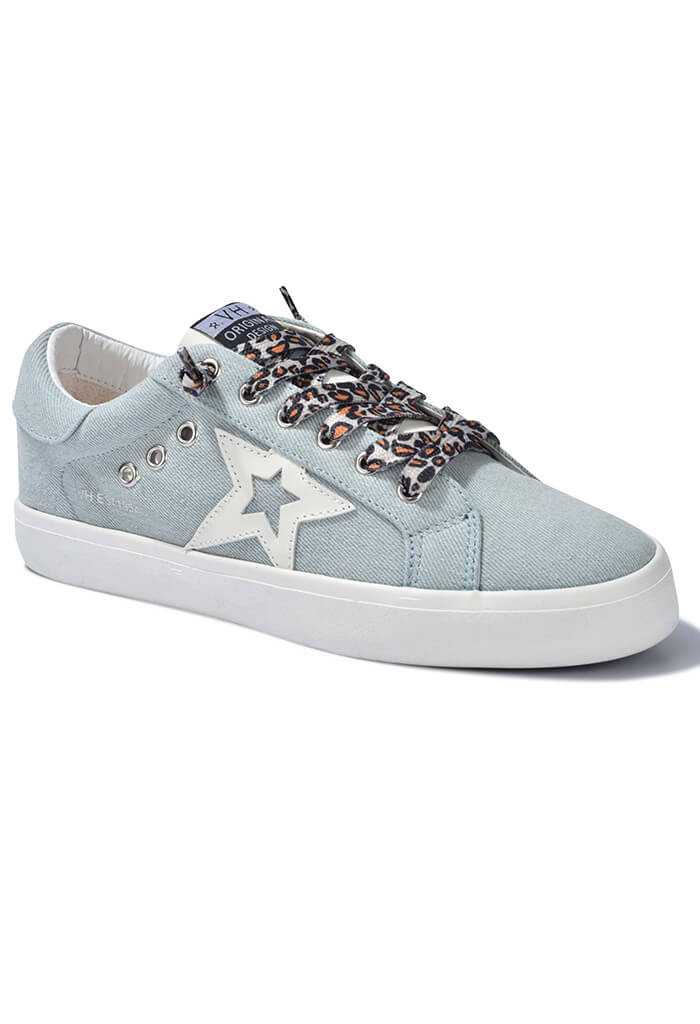 Fortune Sneaker-Sky Denim