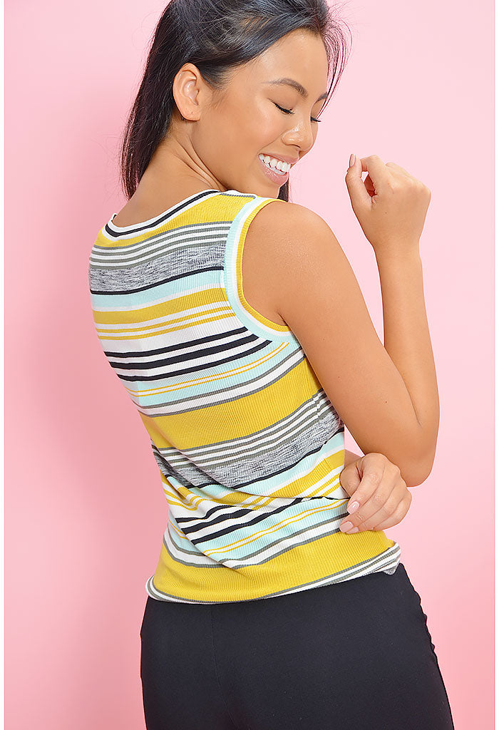 Knit's So You Stripe Tank