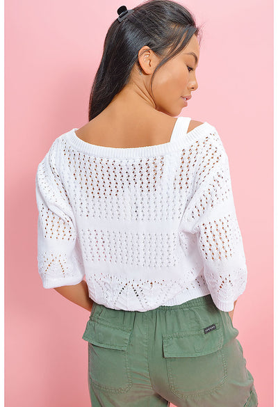 California Love Cropped Sweater