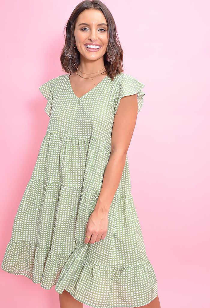 Picnic Party Dress-Sage