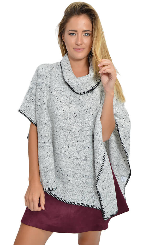 Bishop & Young Cup Kate Poncho-front