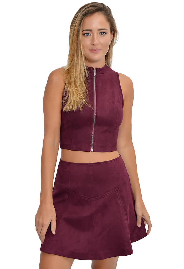 Jack by BB Dakota Dwyer Crop Tank-front