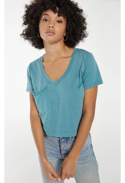 Classic Skimmer Tee-Teal