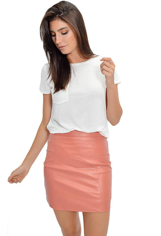 Peach Gloss Skirt
