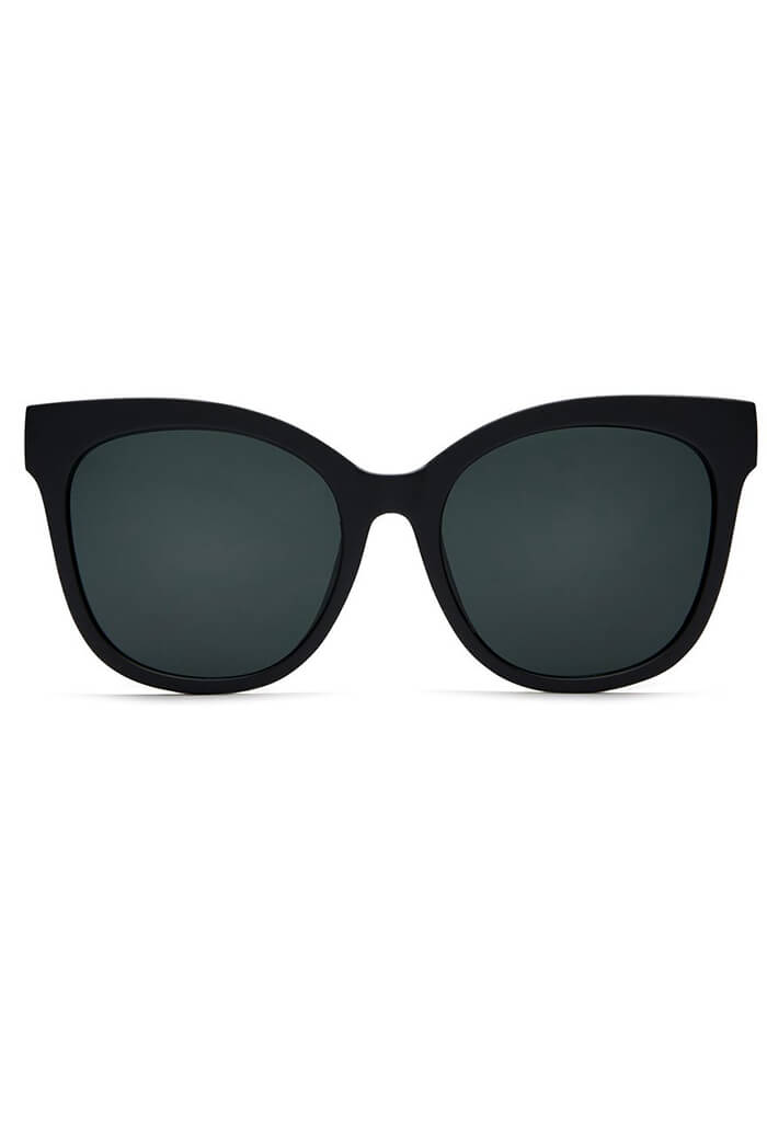 It's My Way Sunglasses in Black & Smoke