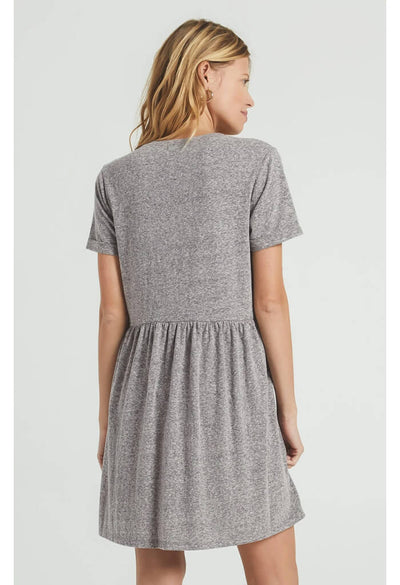 Lucia Triblend Dress-Washed Black