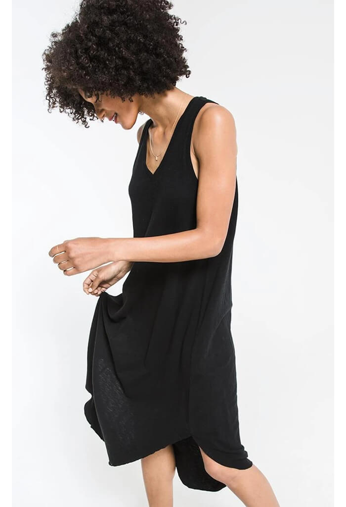 The Reverie Dress-Black