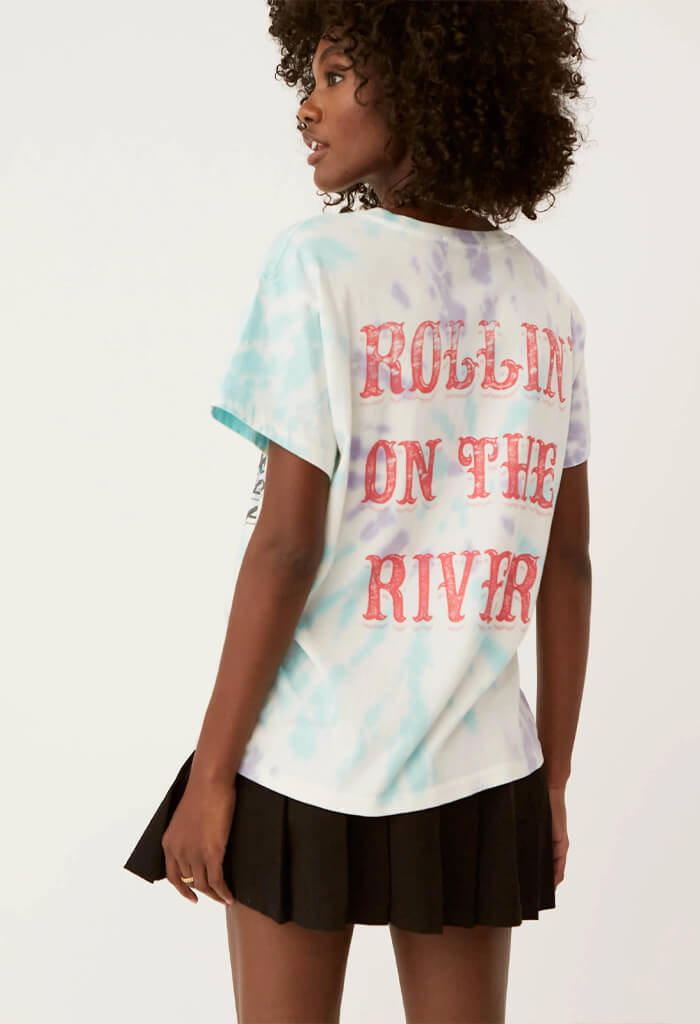 CCR Rollin' On the River Tee