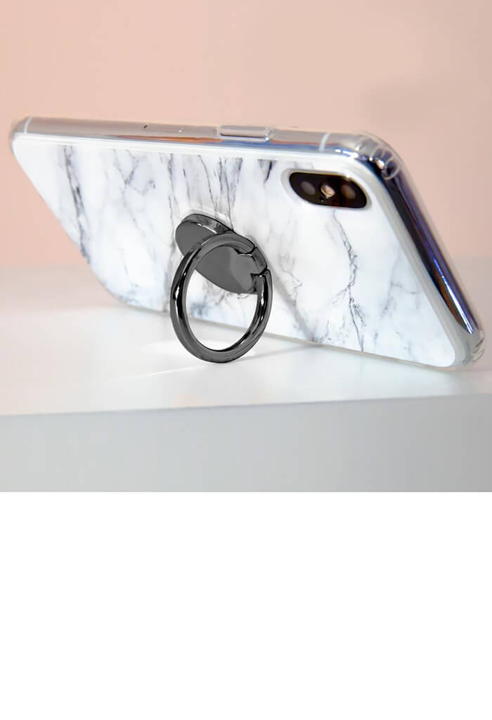 Phone Ring-Gunmetal