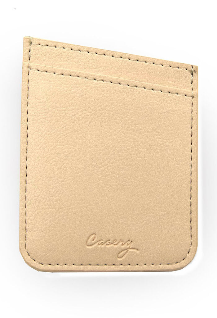 Casery Beige Phone Pocket