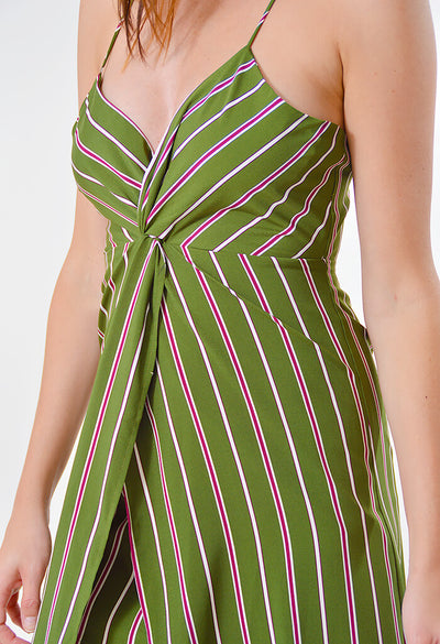 Pine Stripe Dress