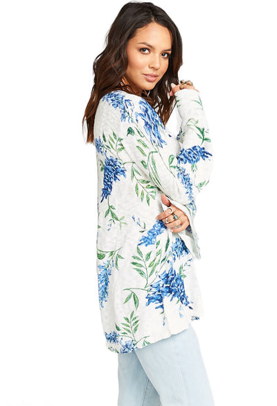 Show Me Your Mumu Festibell Sweater Wisteria Wonder Knit-side