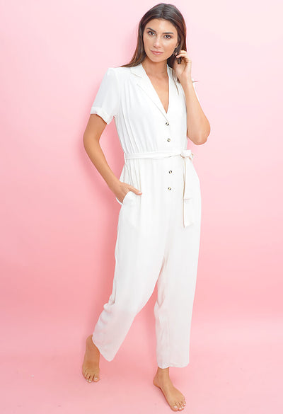 Soft Boiler Suit-Off White
