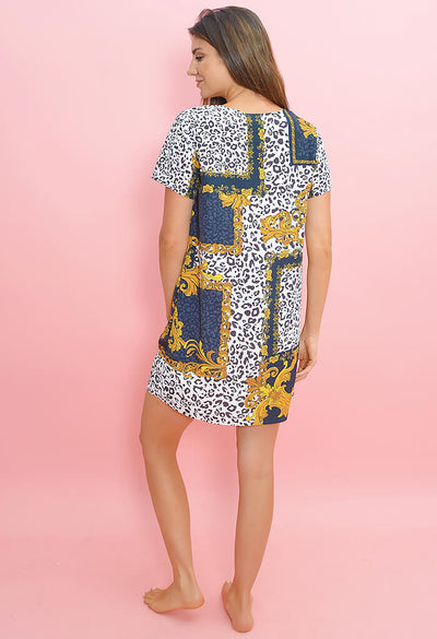 Material Girl T-Shirt Dress