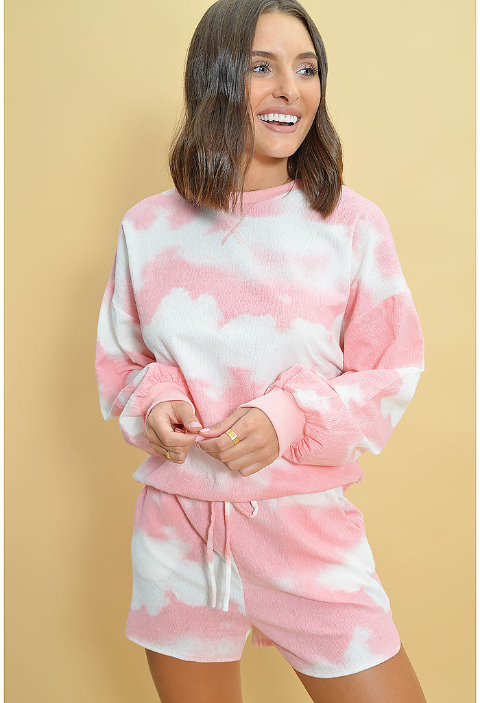 Cotton Candy Cloud Set-Pink