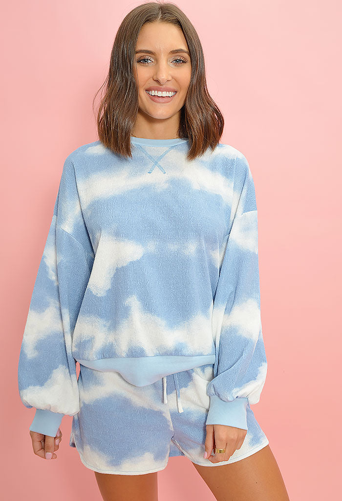 Cotton Candy Cloud Set-Blue