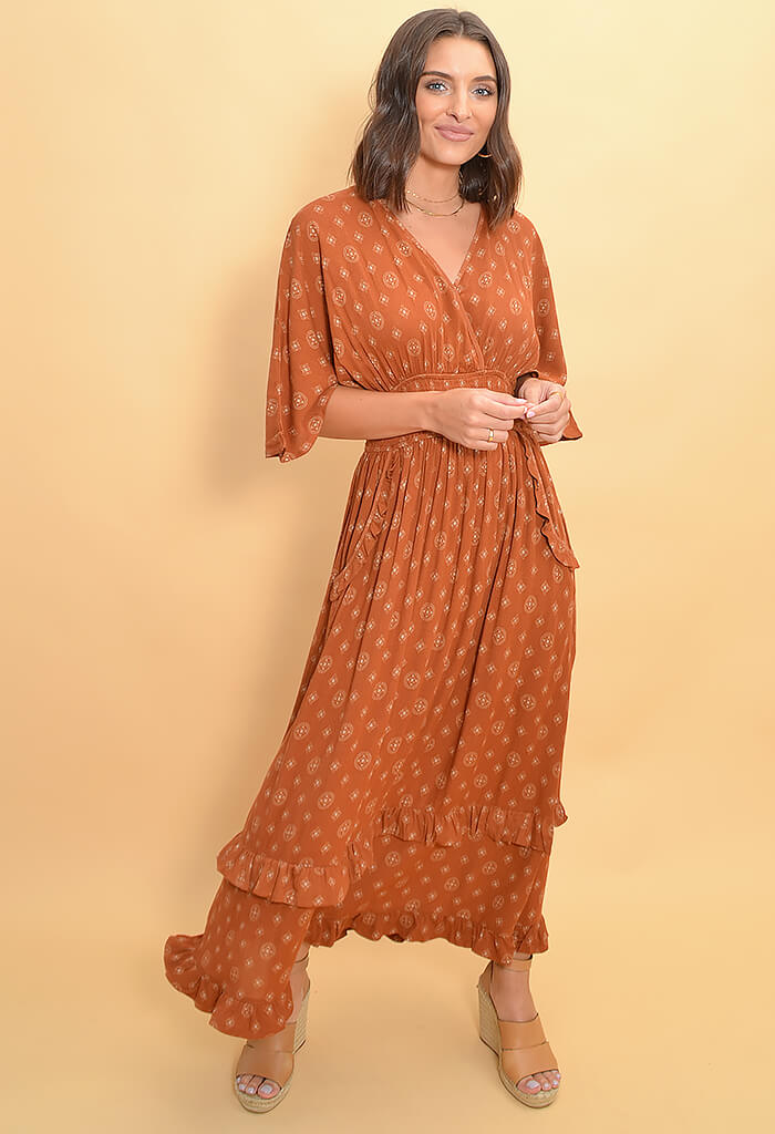 Sahara Sunset Maxi