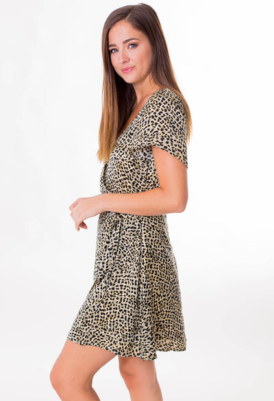Lenna Leopard Dress