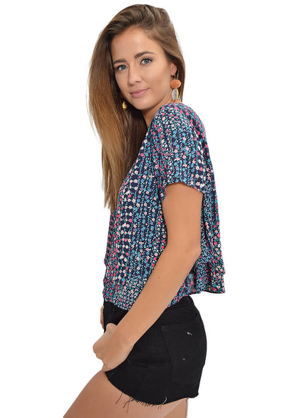 Buddy Love Joey Top in Floral Frenzy-side