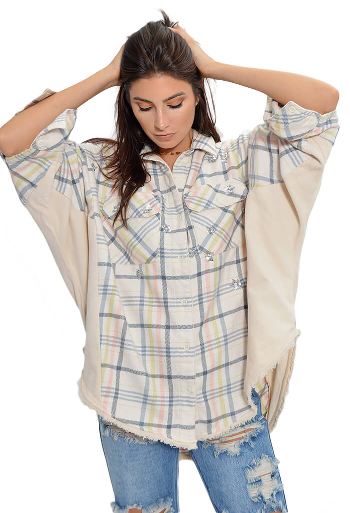 Free People Constellations Within Buttondown-front